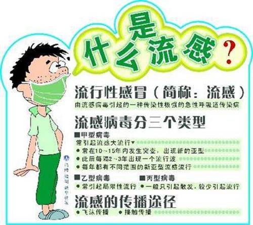 资讯中心 胶带知识 流行性感冒的季节,看明安三招预防  1.